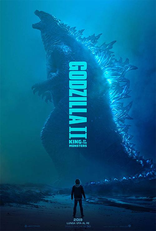 Godzilla II in 3D : King of Monsters (2019)